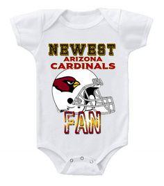 NEW Football Baby Onesie Creeper NFL Arizona Cardinals