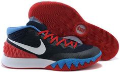 check out 45a22 c5b3c Discover the Online Nike Kyrie 1 Red White And Blue group at Footseek. Shop Online  Nike Kyrie 1 Red White And Blue black, grey, blue and more.