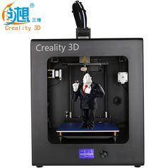 884.40$  Watch now  - High precision CREALITY 3D Auto Leveling CR-2020 Education Person Full Assembled 3D Printer Large Print Size With Free Filament