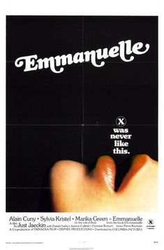 Emmanuelle is a 1974 French  film directed by Just Jaeckin. The film's story is based on the novel Emmanuelle. The film stars Sylvia Kristel in the title role about a woman who takes a trip to Bangkok to enhance her sexual experience. The film was former photographer Just Jaeckin's debut feature film and was shot on location in Thailand and in France between 1973 and 1974.