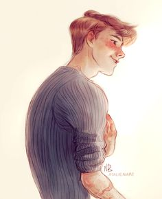 Ron Weasley.....?Dont know who drew it but it is rlly good!