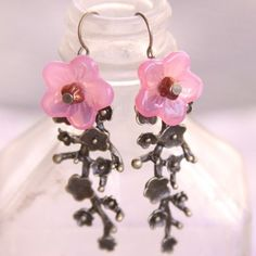 Cherry Blossom Branch earrings
