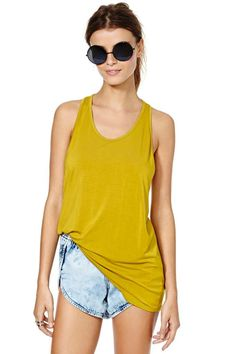 Race Around Tank   Shop What's New at Nasty Gal