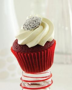 RED VELVET CUPCAKES - I'm not really fond of baking but I really love cakes. With this recipe, may you be able to appreciate baking the way I did. It was not ea...