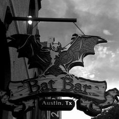 Bat Bar in Austin, TX-I've actually been here! And would go again.