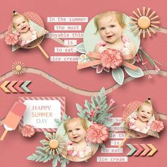 Layout using {Happy Summer Day} Digital Scrapbook Kit by Eudora Designs available at MScraps and With Love Studio  http://www.mscraps.com/shop/Happy-Summer-Time/ http://withlovestudio.net/shop/index.php?main_page=product_info&cPath=27_251&products_id=5452&zenid=c7b1eee8469fe4f3004be89d88b6977f#.VZEZEUbgrV8