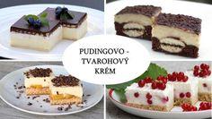 Jeden pudingovo - tvarohový krém a veľa skvelých zákuskov, recepty | Naničmama.sk Dessert Recipes, Desserts, Cheesecake, Ale, Baking, Food, Beautiful, Tailgate Desserts, Deserts