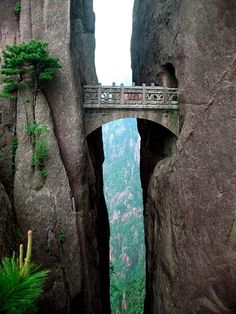 Fairy Bridge of the Immortals, Huangshan, China