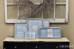 DIY Snowflakes  : DIY snowflake craft decor