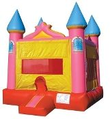 Jingo Jump 23CLPR3 13' x 13' Pink Castle Inflatable Bounce House w/ Warranty. Jingo Jump, Inc founded in year 2001 in Glendale, CA. We specialize in manufacturing and sales of Inflatable play structures for the amusement and rental industry. From day one our creative designs, quality and safety of our products made our company one of the leaders in inflatable industry. And we thank our customers for their contribution in our outstanding achievements. We work as a team, because even with most…