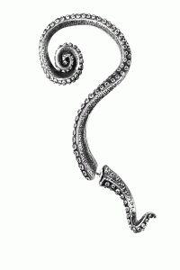 Alchemy Of England – Kraken Ear Wrap In Pewter