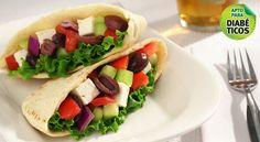 Vegetales en pan pita - Suat .:. Emergencia M�vil