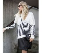 Eponym, Take a Shot, Sonnenbrille, Sunglasses, Stripes, Black, Fake Leather, Stella McCartney, Ethletic, Fair Fashion, Ethical, ootd, lotd, Look, Outfit, Streetstyle, Inspiration, Fashion, Blog, stryleTZ