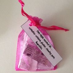 Hen Party Favours Gift Bags Night Mini Survival Kit Ebay