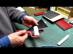 Making a Pocket in a Case Binding