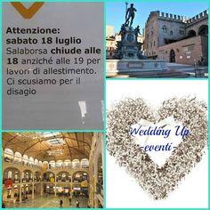 E per la Prima Volta nella sua storia Sala Borsa  sarà il Cuore di un Matrimonio..Riccardo, Catia e..Wedding Up-eventi..