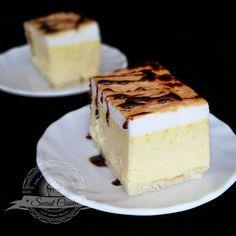 Sernik z pianką | Świat Ciasta