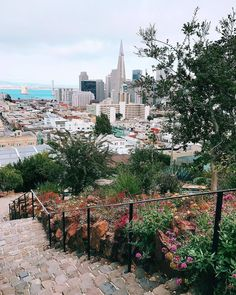 Russian Hill San Francisco by @teresa_ by photoblog.sanfranciscofeelings.com sanfrancisco sf bayarea alwayssf goldengatebridge goldengate alcatraz california