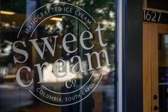 Sweet Cream Co. is the place to be! Come visit us on Main St. Columbia, SC. Photography by Tony Claremont: http://beardedspoooon.smugmug.com  #sweetcreamco #sweetcream #icecream #columbia #southcarolina #columbiasc #famouslyhot #sc #sorbet #handmade #smallbatch #mainstreet #mainst #smallbusiness #handcrafted #eatlocal