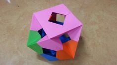 391 Origami 종이접기 (다면체)  polyhedron  색종이접기  摺紙 折纸 оригами 折り紙  اوريغامي