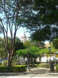 Praça Matriz de Santana de Parnaíba.
