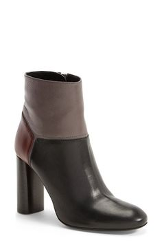 Lanvin+Colorblock+Leather+Bootie+(Women)+available+at+#Nordstrom