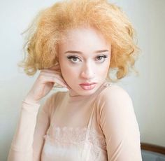 Try Again, Albino, Beauty, Instagram, Beauty Illustration