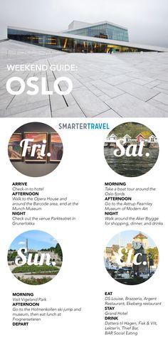 How to Do Oslo, Norway in a Weekend