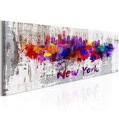 Mapy świata i akwarelowe mapy miast na płótnie w nowoczesnym salonie wybuchną prawdziwą feerią koloru!