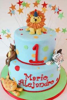 First Birthday Cakes New Jersey – Lollipops Custom Cakes