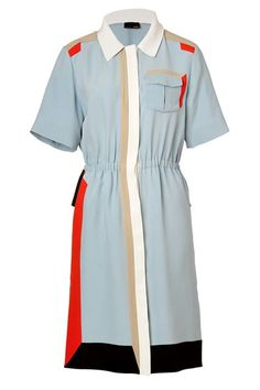 On-Sale Party Dresses For Every Summer RSVP  #refinery29  http://www.refinery29.com/2015/05/87022/stylebop-may-sale-2015#slide-8  A little bit utilitarian, a little bit art gallery-cool, this shirtdress is picture perfect.