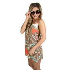 Perfection In Paisley Romper | Impressions Online Women's Clothing Boutique