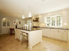 Bright and open kitchen in Scarsdale... JUST LISTED! Call 914-723-5555 to make an appointment.