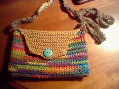 crotchet purse
