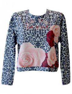 #felpa #maculata #rose #moda #fashion