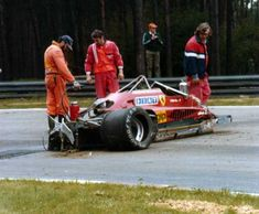 GILLES VILLENEUVE Incidente mortale (08/05/1982)