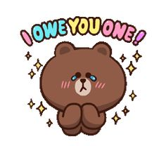 LINE Characters: Pretty Phrases Stickers 5 Cony Brown, Brown Bear, Emoji List, Bear Gif, New Emojis, Bunny And Bear, Line Friends, Love Stickers, Cute Cartoon Wallpapers
