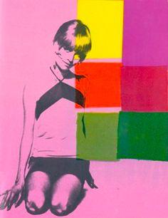 Barbara Feldon, Pop Art by Andy Warhol.