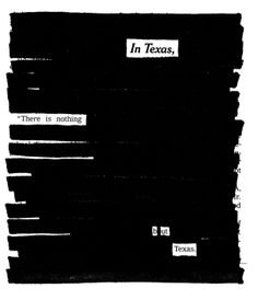 Newspaper + marker = poetry — Show Your Work! — Medium