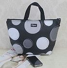 NEW Travel thirty gift one Thermal Picnic Lunch Shopping Tote Bag happy dot 31 l