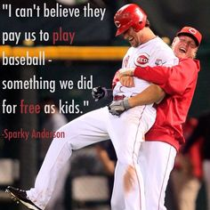 Sparky couldn't have said it any better. #GoReds