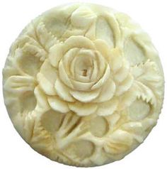 Ivory button