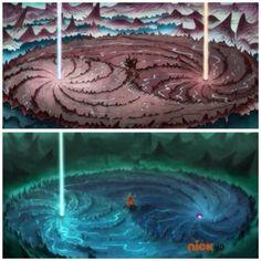 The Legend of Korra: Wan time v Korra time Avatar Legend Of Aang, Korra Avatar, Legend Of Korra, Republic City, Avatar Cartoon, Spring Vacation, Iroh, Fire Nation, Nerd Love