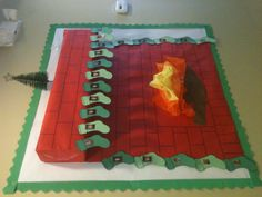 My staff Christmas bulletin board that I made at work. I am so proud! =)