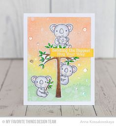 My Favorite Things CUDDLY KOALAS Clear Stamps CS196 zoom image
