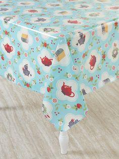 Ordinaire Heavy Duty Oilcloth Tablecloth