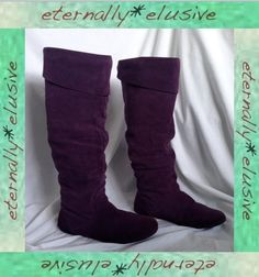 NEXT Long Suede Leather Over The Knee/Knee High Slouch Boots Ladies Size 42 UK 8 35.00 FPP