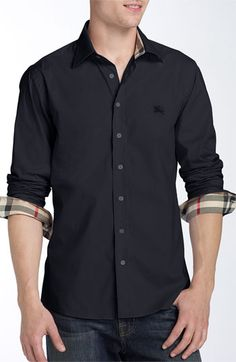 5ae076721d5 Burberry Brit Poplin Sport Shirt. OMG! BEBE YOU WOULD LOOK SO HOT IN THIS