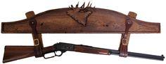 homemade gun racks | ... GUN RACK Wall Mounted San Angeo Style Patt on your Kindle in under a