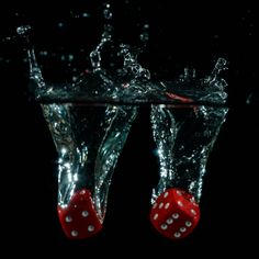 dices in water - Google Search